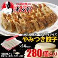 餃子 国産【 岡田屋餃子 生餃子 280個入り 約28人...